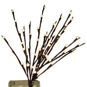White Pussy Willow Lights 60 Bulbs -Light Garden