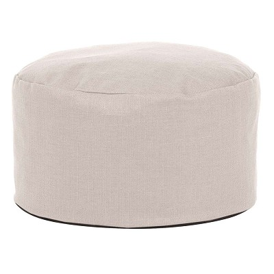 Foot Pouf Sterling Sand -Howard Elliott