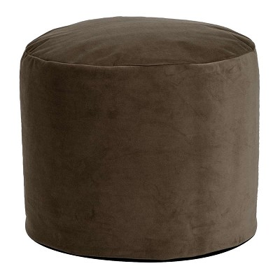 Tall Pouf Bella Chocolate -Howard Elliott