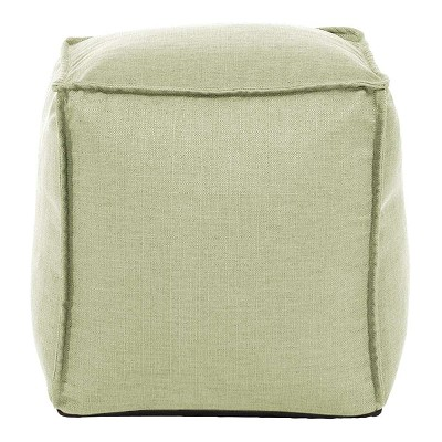 Square Pouf Sterling Willow -Howard Elliott
