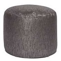 Tall Pouf Glam Zinc -Howard Elliott