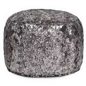 Tall Pouf Silver Fox -Howard Elliott