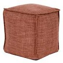 Square Pouf Coco Coral -Howard Elliott