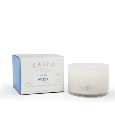 Trapp Candles No 20-Water-3.75 Oz Poured Candle