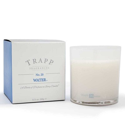Trapp Candles No 20-Water-8.75 Oz Poured Candle