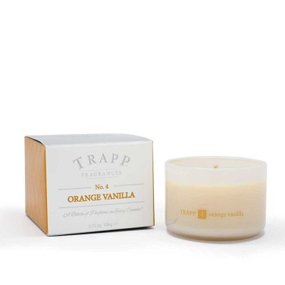 Trapp Candles No 4-Orange Vanilla-3.75 Oz Poured Candle