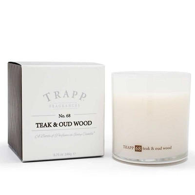 Trapp Candles No 68-Teak & Oud Wood-8.75 Oz Poured Candle
