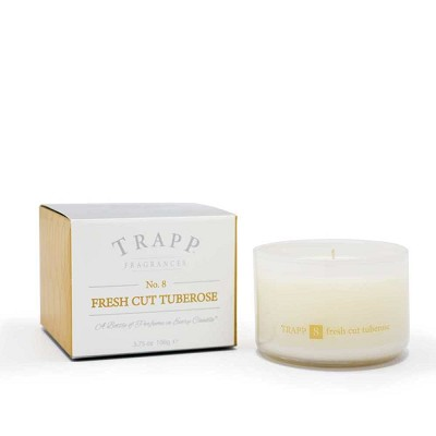 Trapp Candles No 8-Fresh Cut Tuberose-3.75 Oz Poured Candle