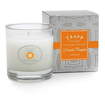 Trapp Fireside Pumpkin 7 Oz Poured Candle