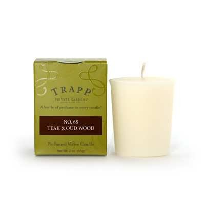 Trapp Votive Teak & Oud Wood No. 68