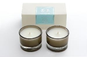 AQUIESSE Shoreline 15 Hr Set/2 Votive Candles