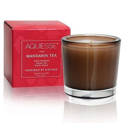 Aquiesse Mandarin Tea Boxed Votive