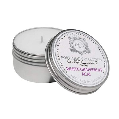 Aquiesse White Grapefruit Acai Travel Tin