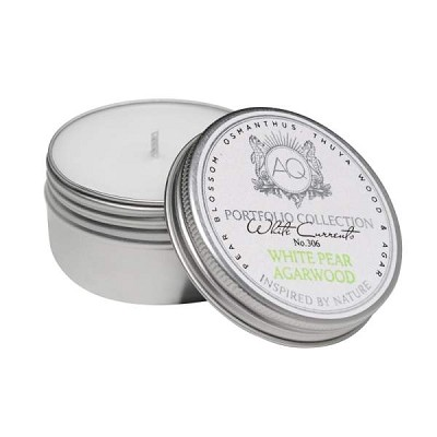 Aquiesse White Pear Agarwood Travel Tin
