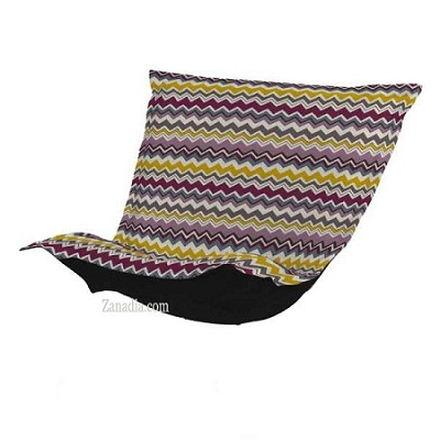 CTC Puff Chair replacement cover with cushion-Bolt Eggplant