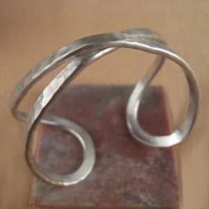 C-Anton Jewelry Hammered Twist Cuff