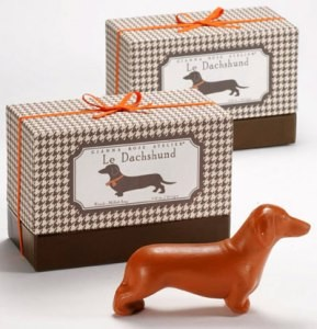 Le Dachshund luxury soap by Gianna Rose Atelier