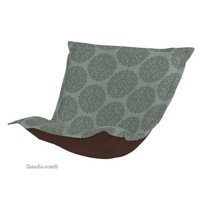 Ctc Puff Chair Replacement Cover With Cushion Medallion Teal