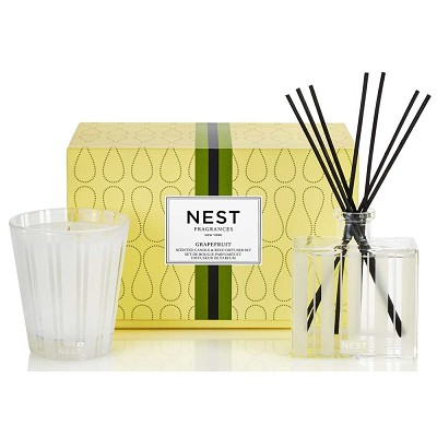 Nest Grapefruit Luxury Diffuser & Candle Gift Set