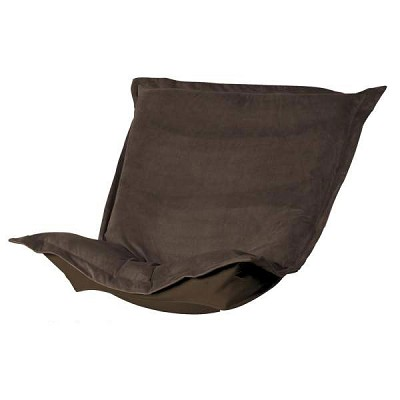 Puff Chair replacement cover with cushion-Bella Chocolate