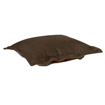 Puff Ottoman replacement cover with cushion-Bella Chocolate