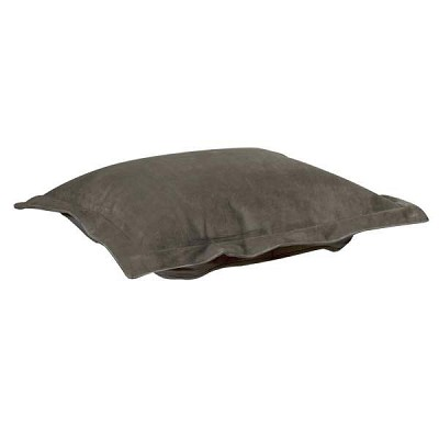 Puff Ottoman replacement cover with cushion-Bella Pewter
