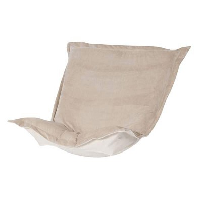 Puff Chair replacement cover with cushion-Bella Sand