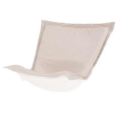 Puff Chair cover with cushion-Sunbrella Seascape Sand