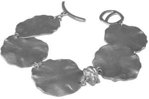 Saundra Messinger Small & Large Lilypad Bracelet
