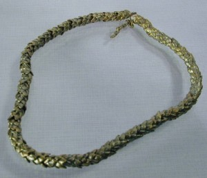 Nature's Weave Thick Necklace by Michael Michaud for Silver Seasons