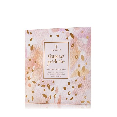 Thymes Goldleaf Gardenia Bath Salt