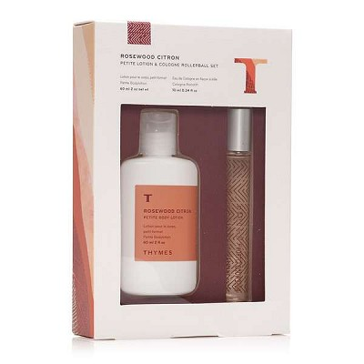 Thymes Rosewood Citron Petite Gift Set