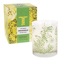 Thymes Indigenous candle-Anjou Vert