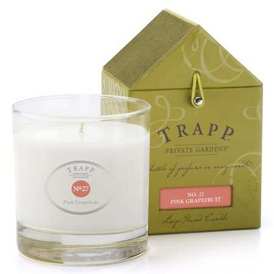 Trapp No. 27 Pink Grapefruit Candle