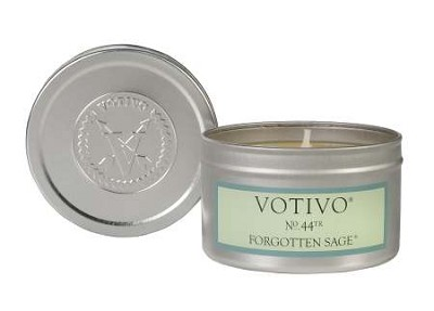 Votivo Forgotten Sage Travel Candle