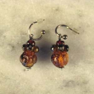 Antique Bead Earrings